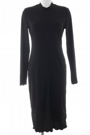 H&M Langarmkleid schwarz