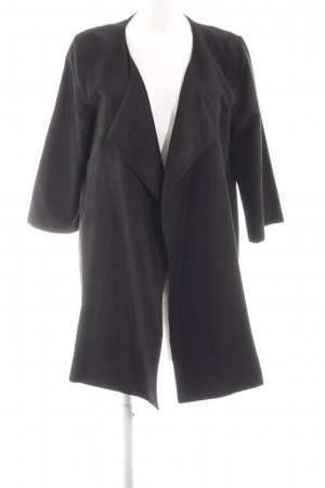 detailed look 06999 330d0 H&M Giacca lunga nero stile professionale