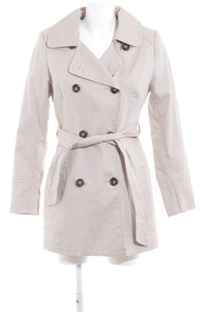 H&M Lange Jacke beige Brit-Look