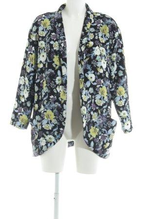 H&M Lange Jacke Blumenmuster Casual-Look