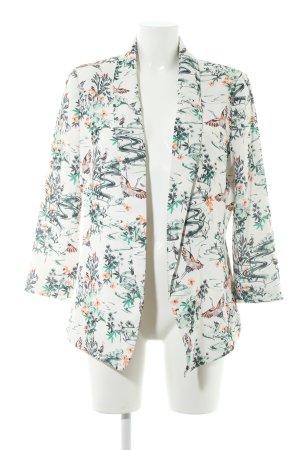 H&M Veste longue motif floral style décontracté