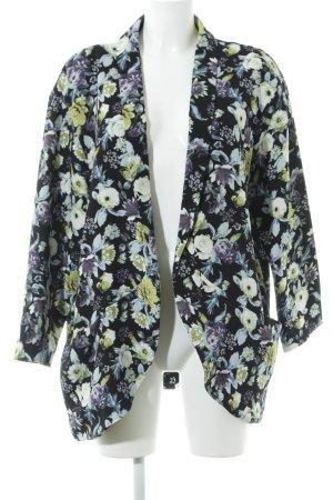 H&M Lange Jacke florales Muster Romantik-Look