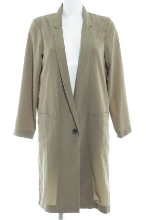 H&M Lange Jacke olivgrün Business-Look