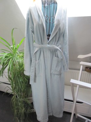 H&M Peignoirs de bain bleu clair coton