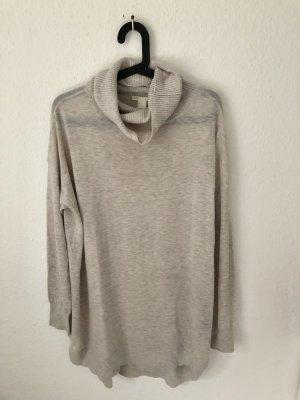 H&M langer oversized Pullover Beige