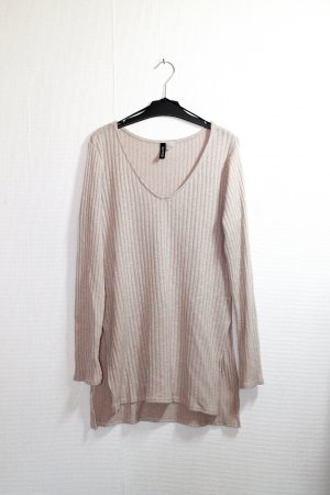 H&M langer Pullover in Creme Gr. S