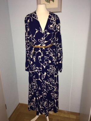 H & M langes Kleid aus 100% Viskose, Größe 36