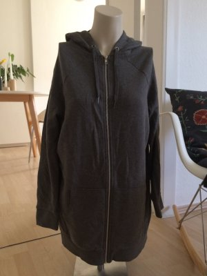 H&M Langes Sweatshirt mit Reißverschluss, neu