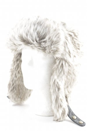 H&M Bonnet cache-oreilles beige-marron clair style extravagant