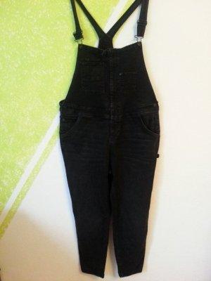 Jeans met bovenstuk zwart Katoen