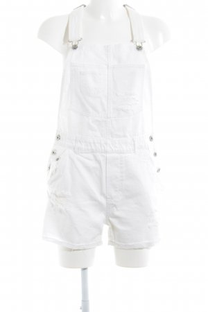 H&M Overall wolwit ontspannen stijl