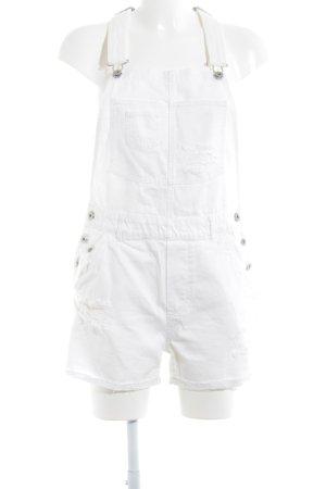 H&M Peto blanco puro estilo relajado