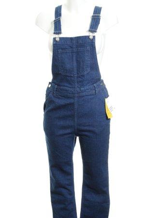 H&M Jeans met bovenstuk donkerblauw casual uitstraling