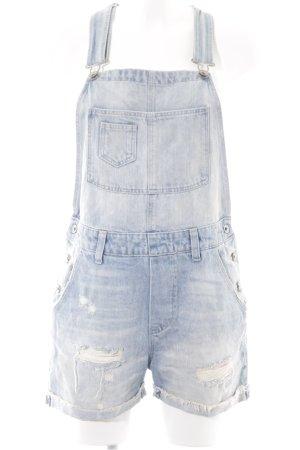 H&M Jeans met bovenstuk korenblauw ontspannen stijl