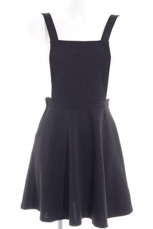 H&M Falda tipo overol negro look Street-Style