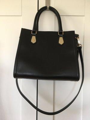 H&M Premium Carry Bag black leather