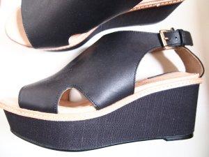 H&M Leder Sandalette 39