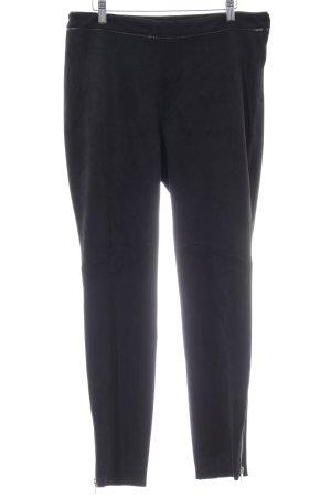 H&M Pantalone in pelle nero stile da moda di strada