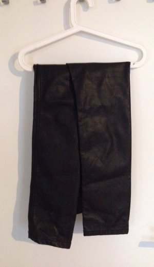 H&M Lederhose Leggings Röhre Skinny Gr. 42