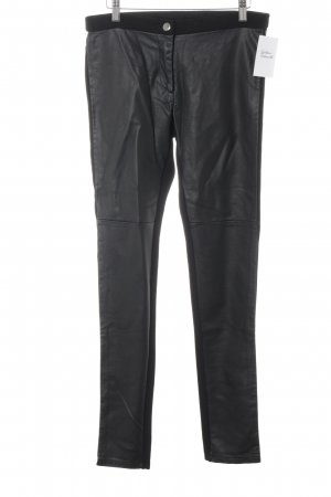 H&M Lederhose schwarz Street-Fashion-Look