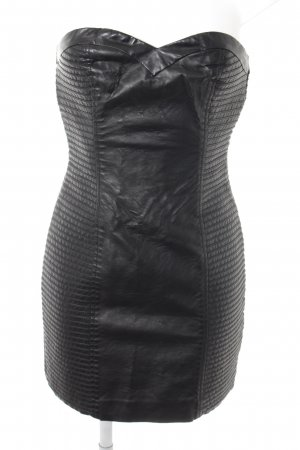 H&M Leather Dress black casual look