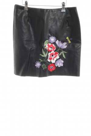 H&M Leather Skirt black casual look