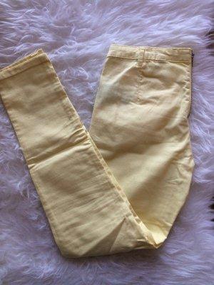 H&M Leggings 38 M neu Röhrenhose Skinny Jeans Frühling Sommer gelb