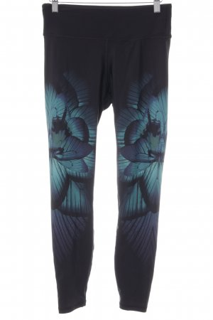 H&M Leggings abstrakter Druck sportlicher Stil