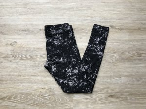 H&M Leggings negro-crema