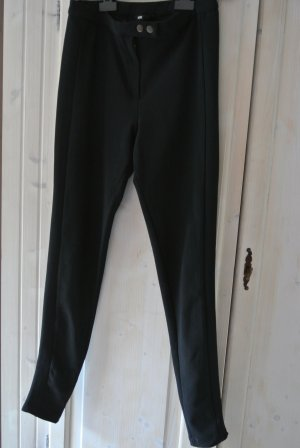 H&M Riding Trousers black polyester