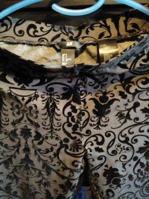 H&M Leggings mit Samt Muster