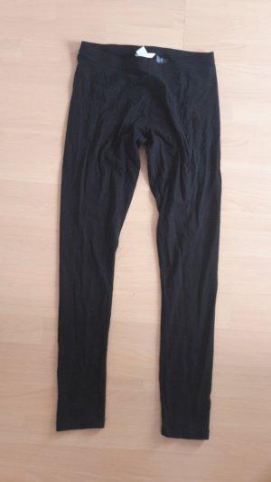 H&M Leggings Schwarz Skinny slim fit