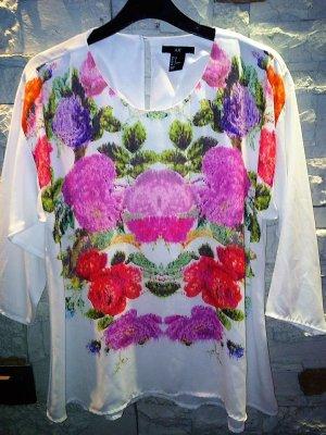 H&M Leichte Bluse in gr 34 Multicolour