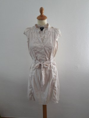 H&M leichtes Kleid XS nude wie neu Blusenkleid