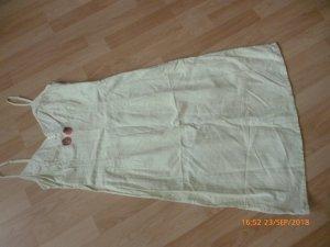 H&M Leinen Trägerkleid gr 42