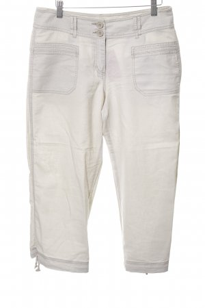 H&M Linen Pants natural white casual look