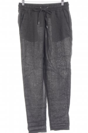 H&M Linen Pants dark grey casual look
