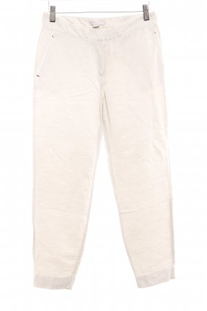 H&M Linen Pants oatmeal-white flecked casual look