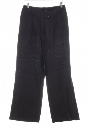 H&M Linen Pants black casual look
