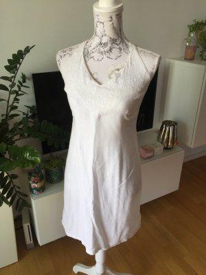 H&M Abito con corpetto bianco Lino