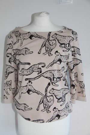 H&M Leo Print Shirt Oversize