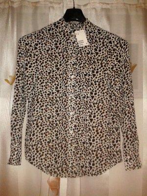 H&M Leoparden Muster Bluse *NEU*