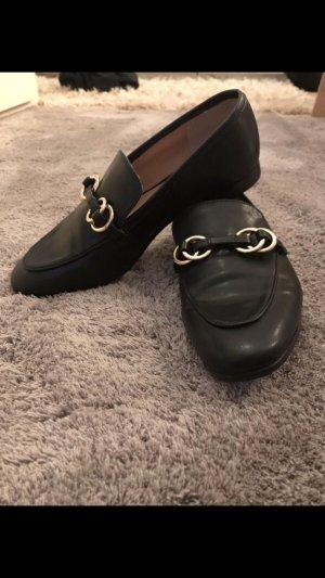 H&M loafer schwarz edel hochwertig