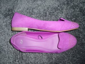 H&M Loafer / Slipper pink mit Nieten Gr. 39 NEU