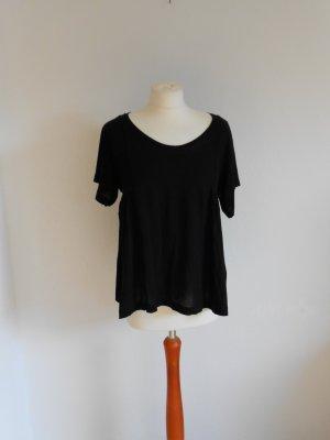 H&M lockeres T-Shirt schwarz