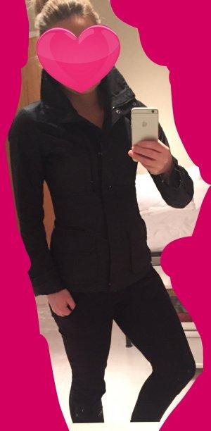 H&M LOGG Jacke schwarz 34