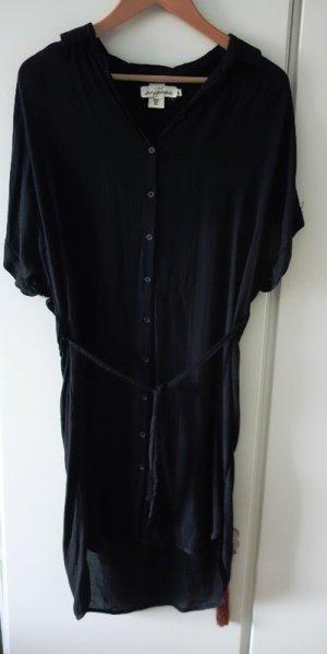 H&M Vestido tipo blusón negro