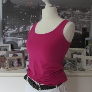 H&M Logg * %Summer SALE% Basic Tank Top * pink magenta * L=40/42 NEU