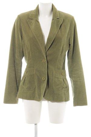 H&M Long-Blazer khaki Casual-Look