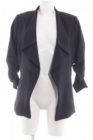H&M Long-Blazer blau Casual-Look